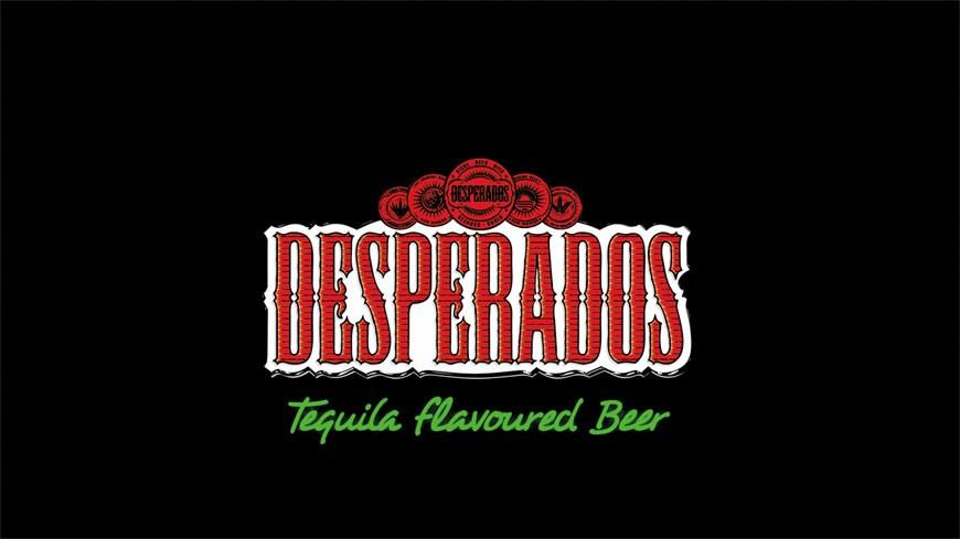 Desperados Beer Logo Still Root Creations Branding Design Digital